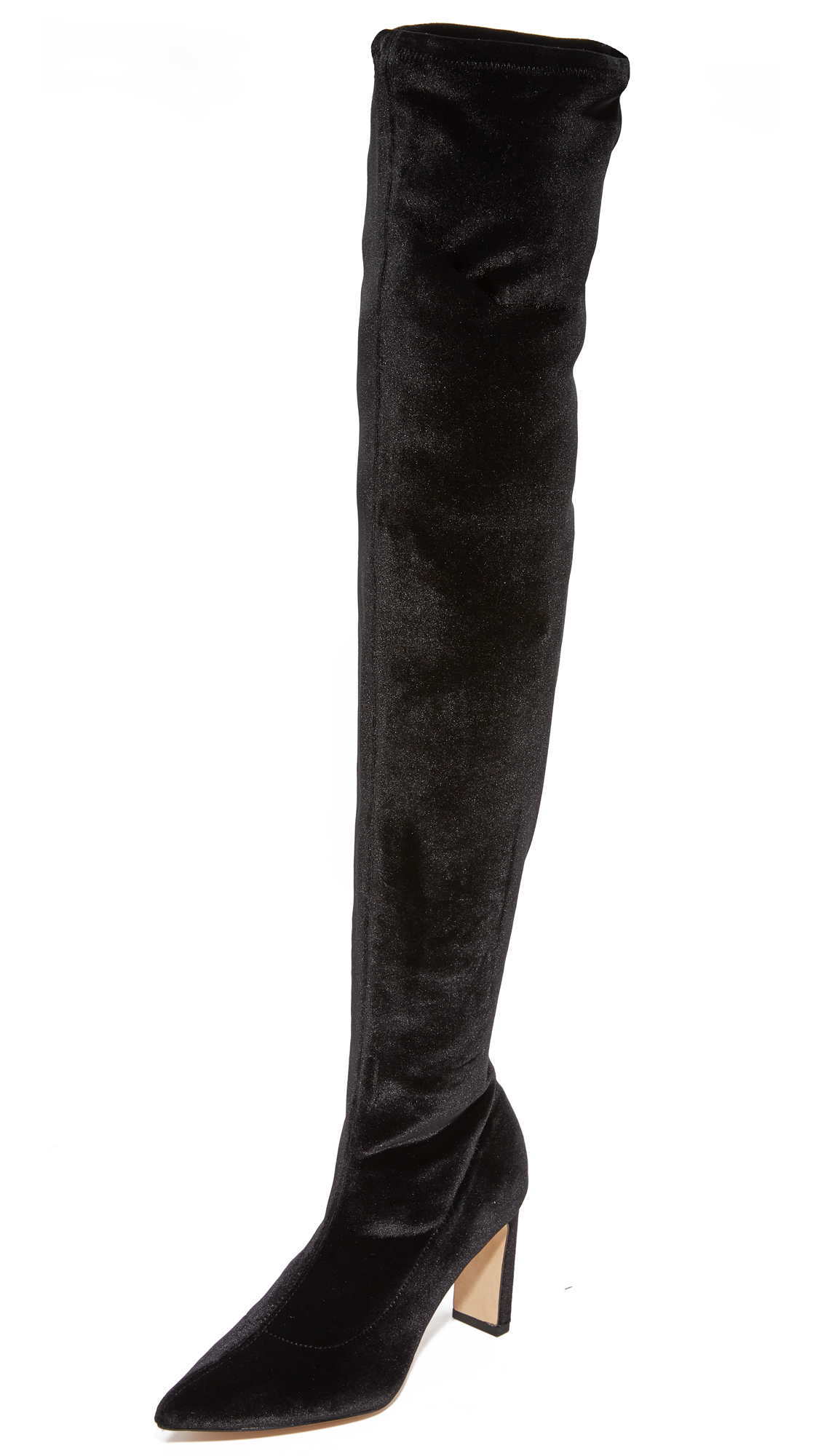 Sigerson Morrison Hye Over the Knee Boots - Black