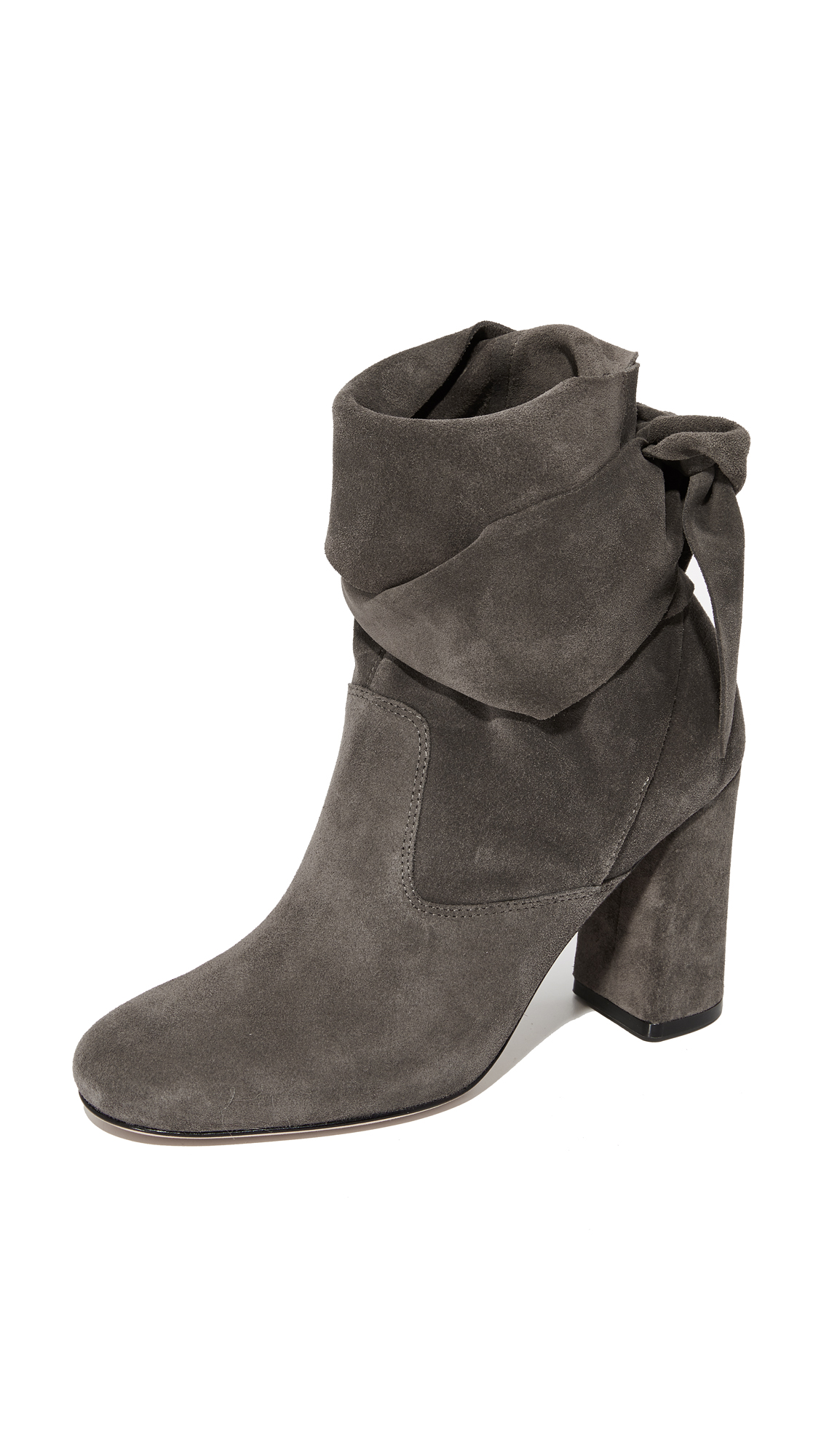 Sigerson Morrison Sally Suede Booties - Ossido