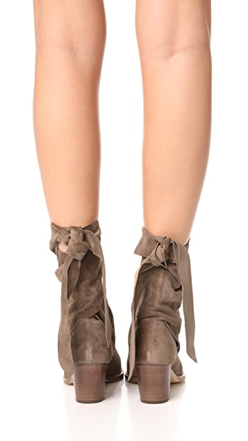 Sigerson Morrison Lori Suede Booties