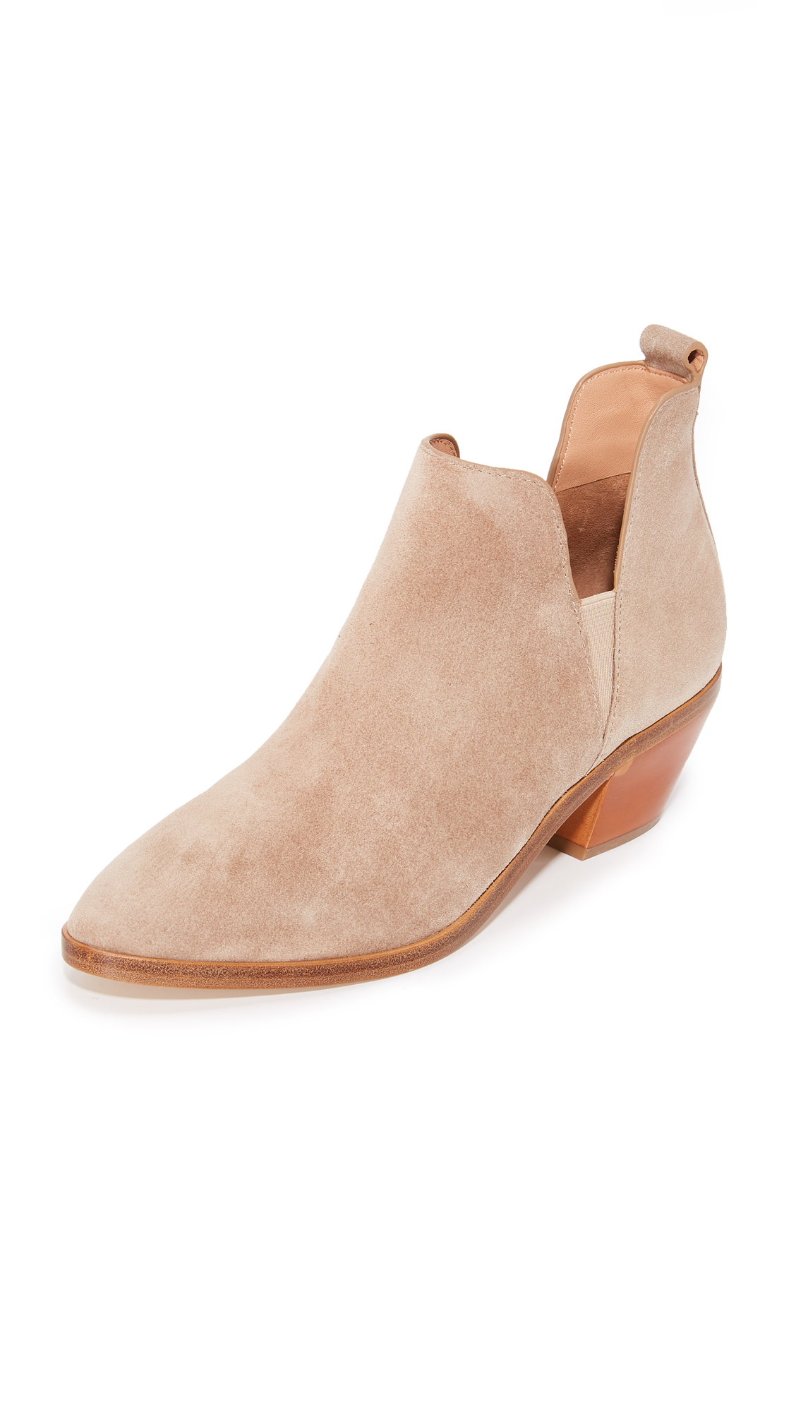 Sigerson Morrison Belin Suede Booties - Cloud
