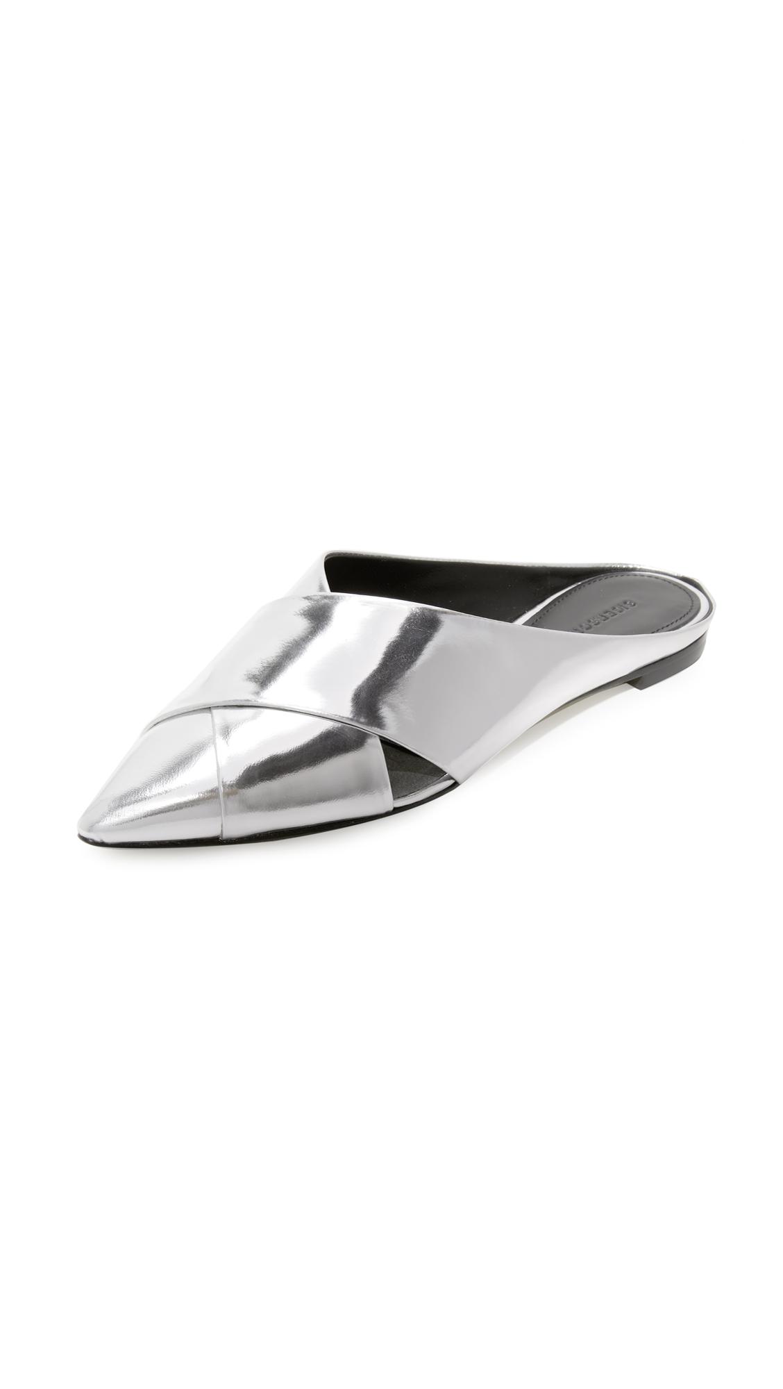 Sigerson Morrison Sheldon Slides - Silver