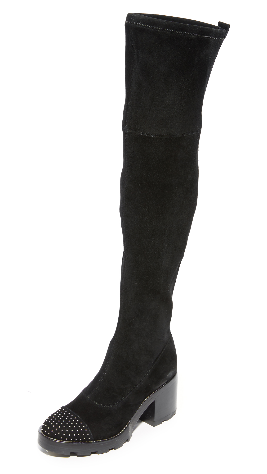 Sigerson Morrison Gemma Thigh High Boots - Black