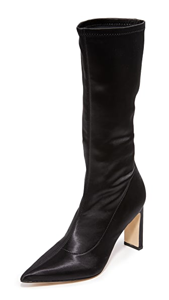 Sigerson Morrison Holly Mid Calf Boots - Black