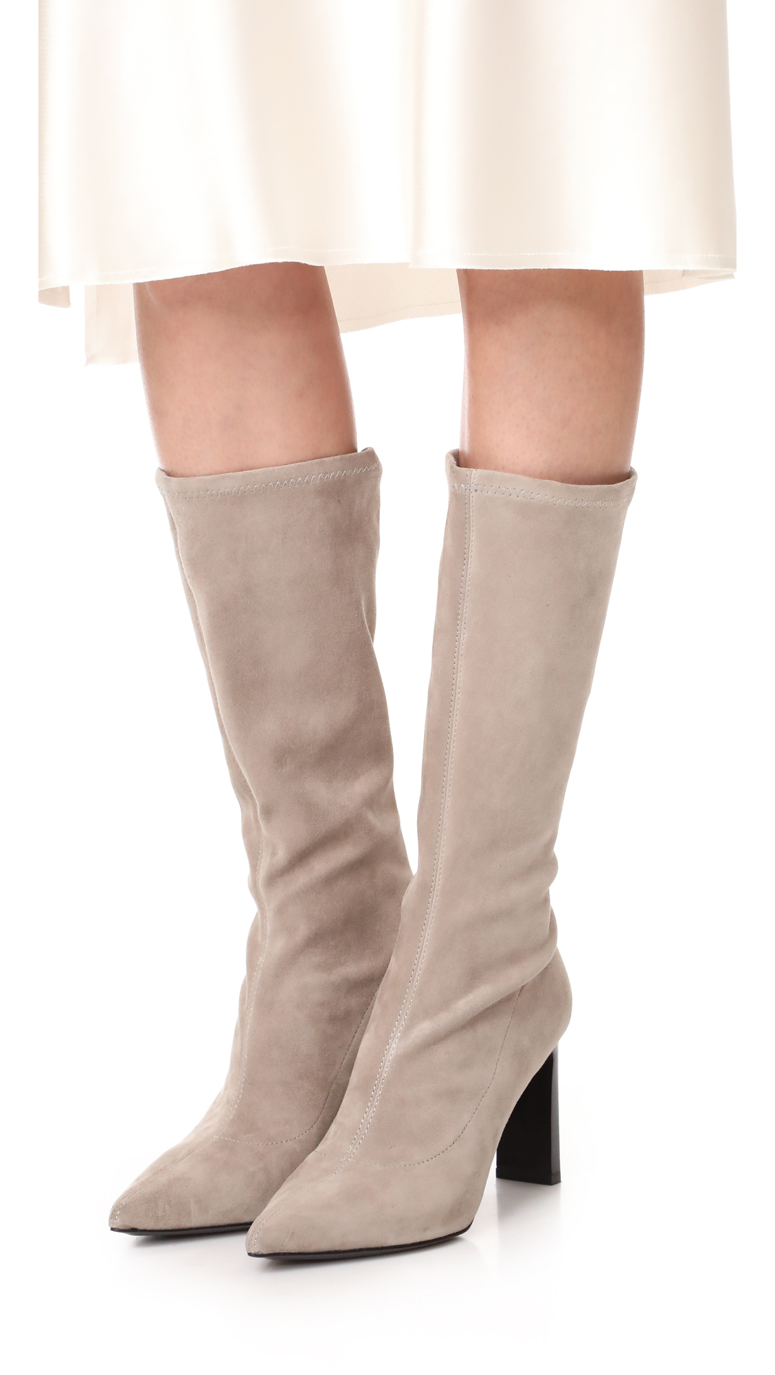 Sigerson Morrison Mid-calf Pointed-Toe Boots new styles online cheap sale online cheap wiki sale outlet store clearance how much tHGSwypWua