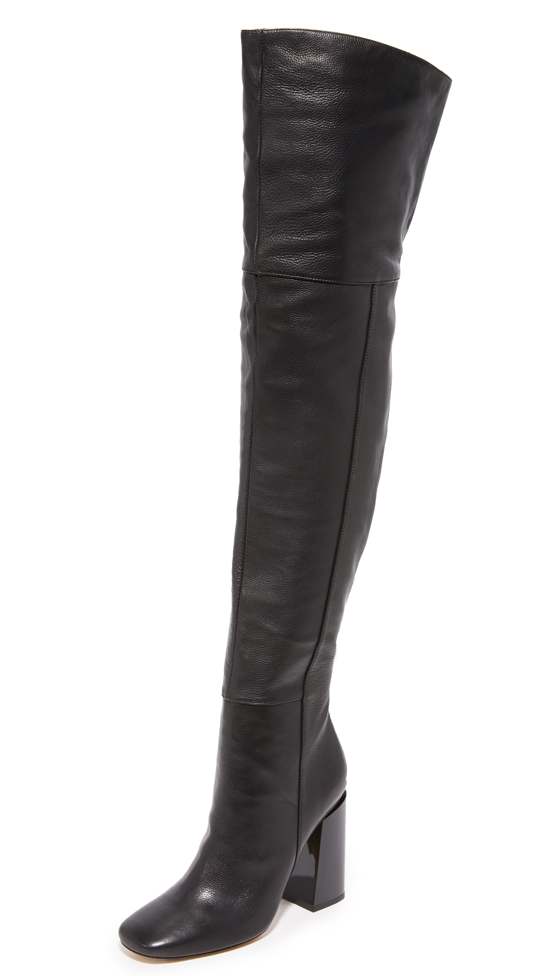 Sigerson Morrison Jessica Thigh High Boots - Black