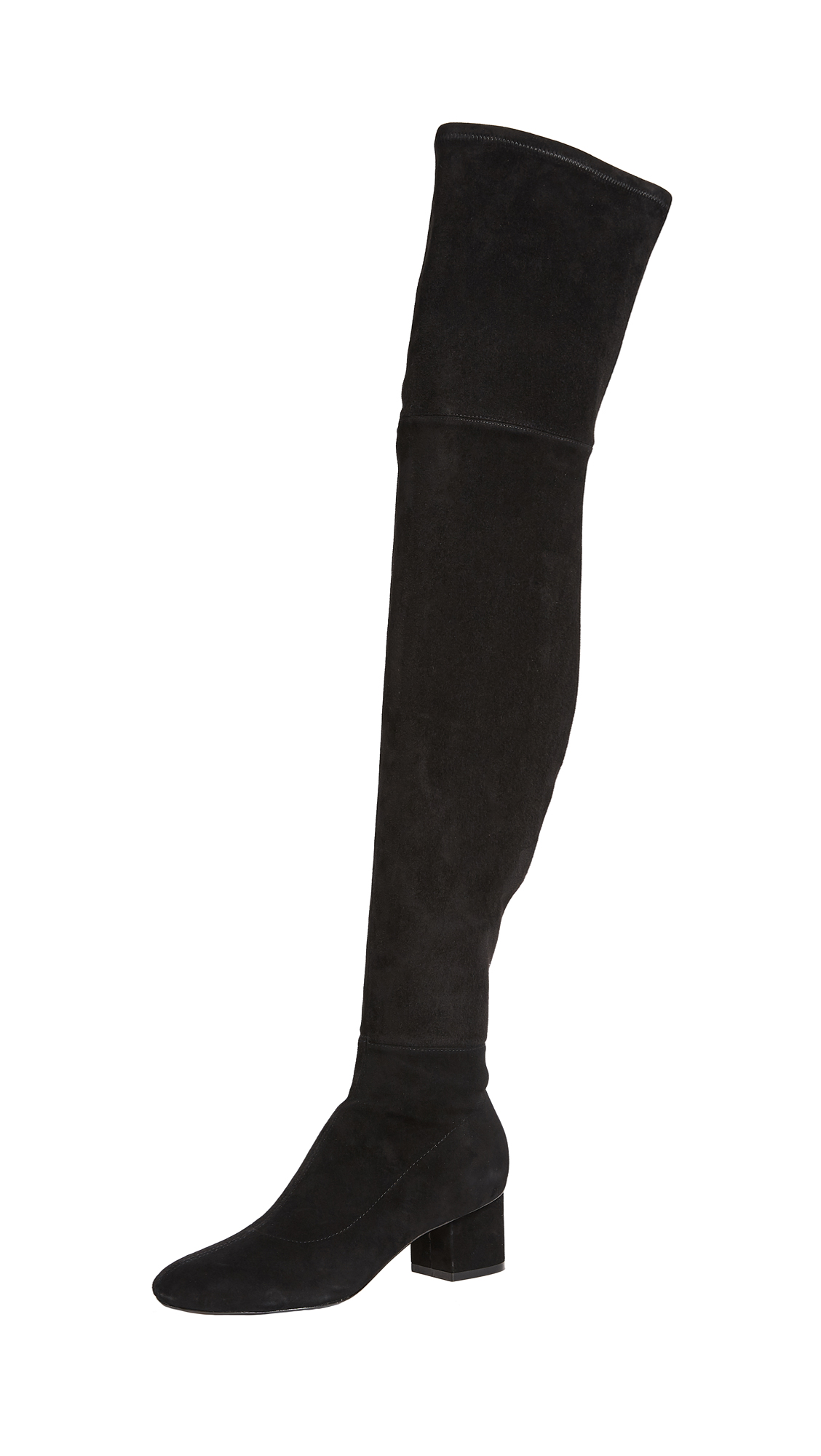 Sigerson Morrison Karissa Thigh High Boots - Black