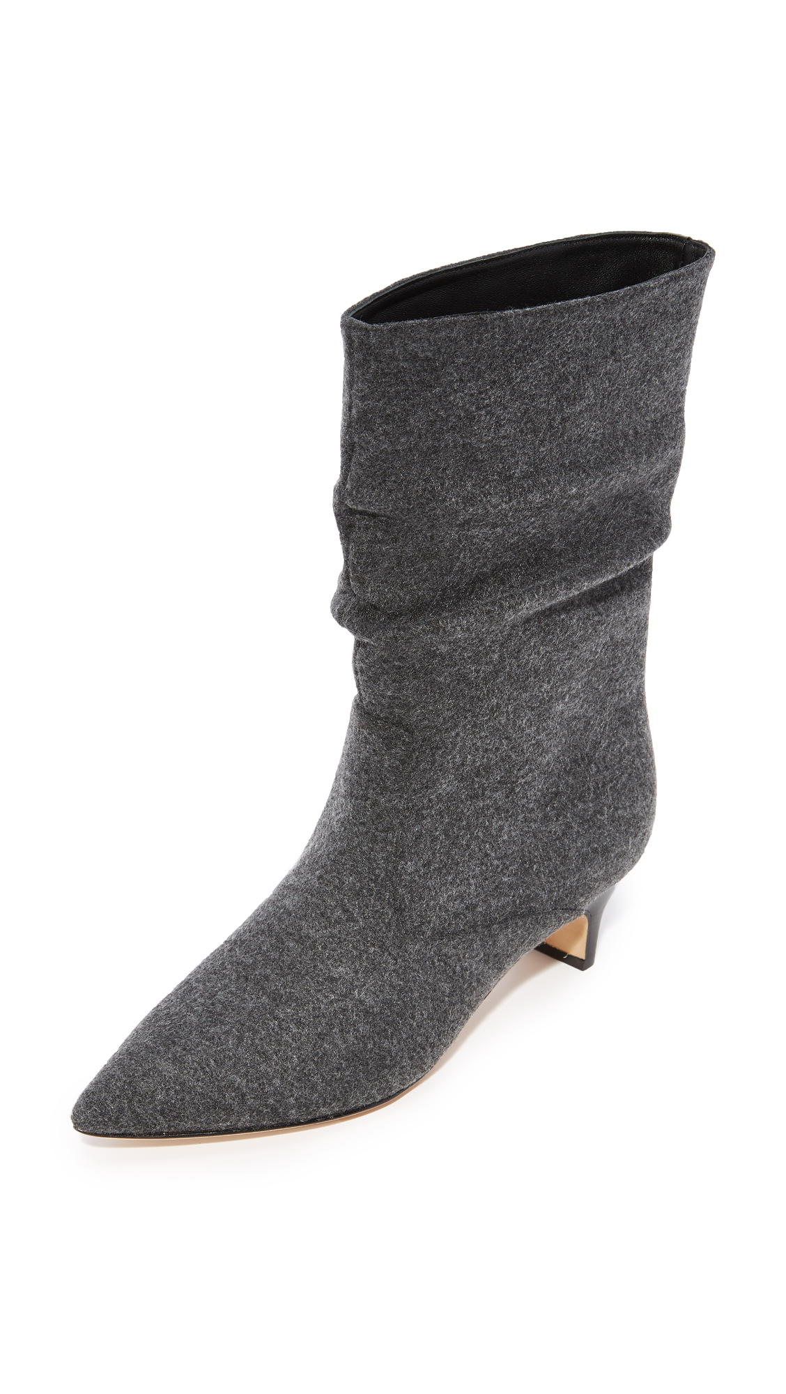 Sigerson Morrison Michelle Mid Booties - Grey
