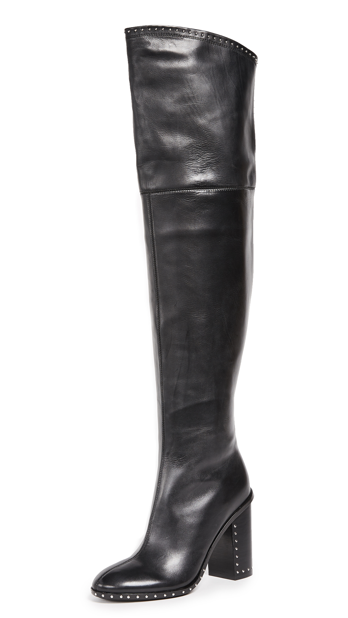 Sigerson Morrison Mars Thigh High Boots - Black