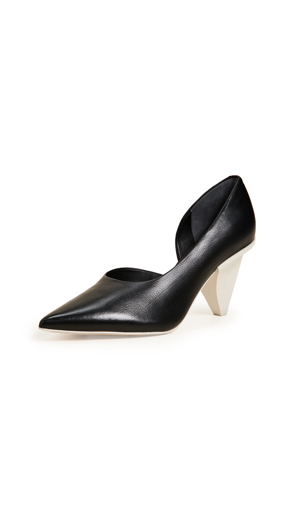 Sigerson Morrison Garson Point Toe Pumps - Black