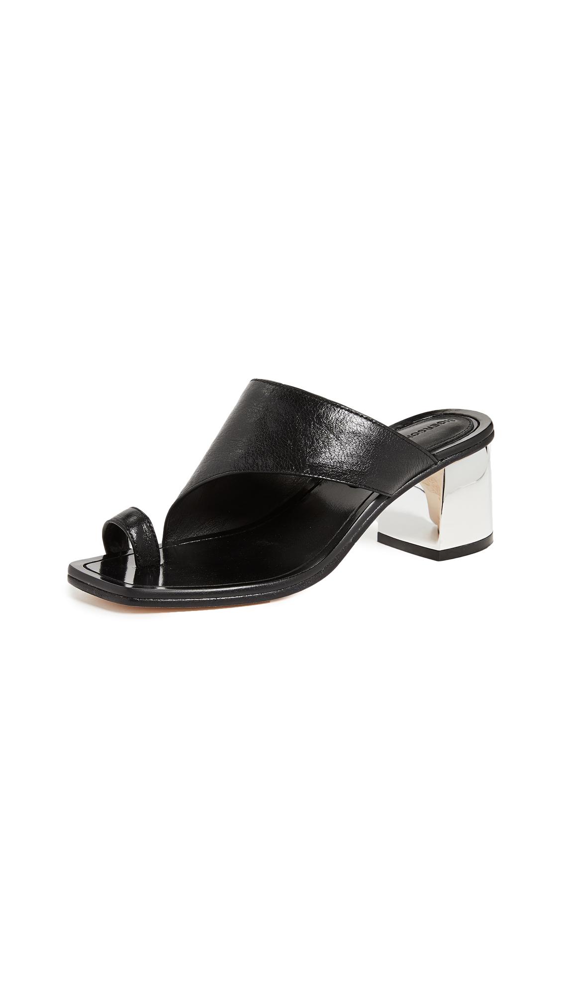 Photo of Sigerson Morrison Marcel Asymetrical Sandals - buy Sigerson Morrison shoes