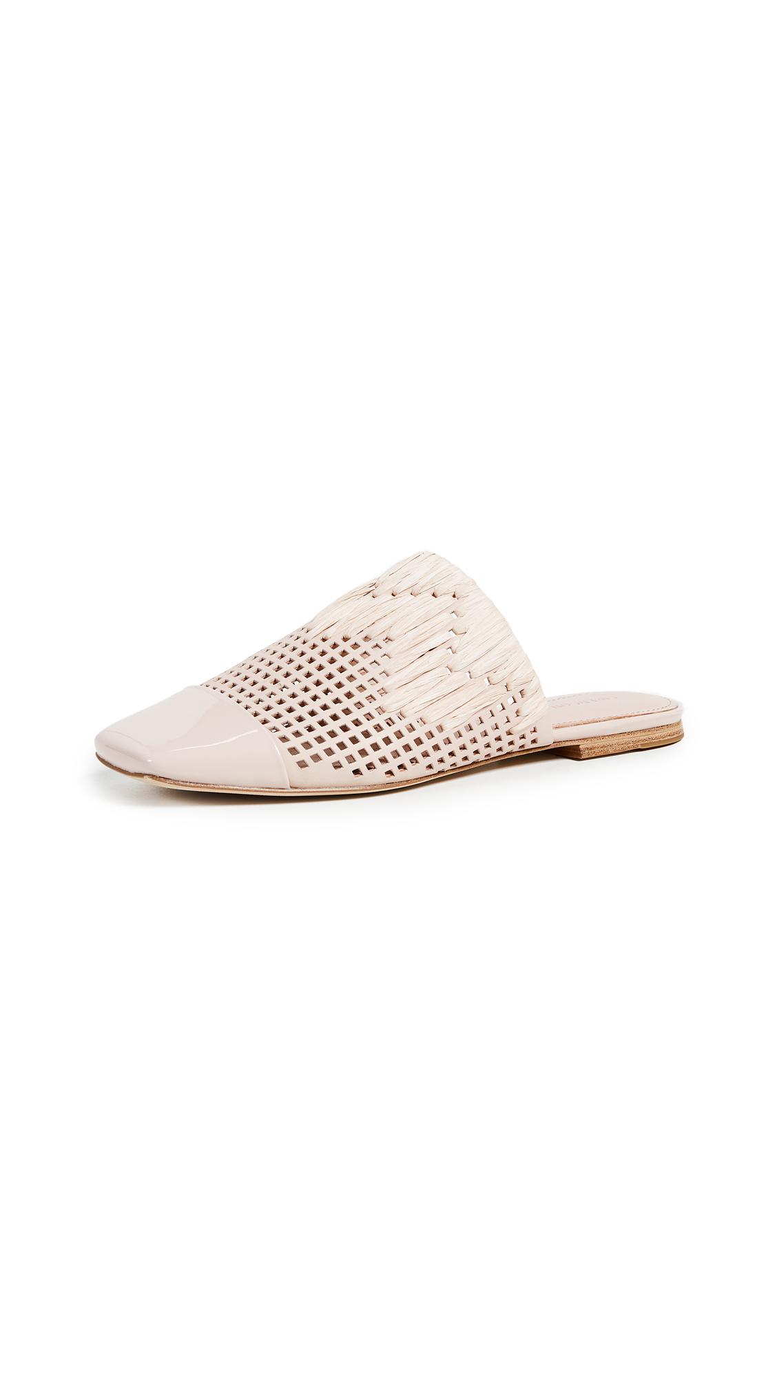 Photo of Sigerson Morrison Gallia Woven Slides - buy Sigerson Morrison shoes