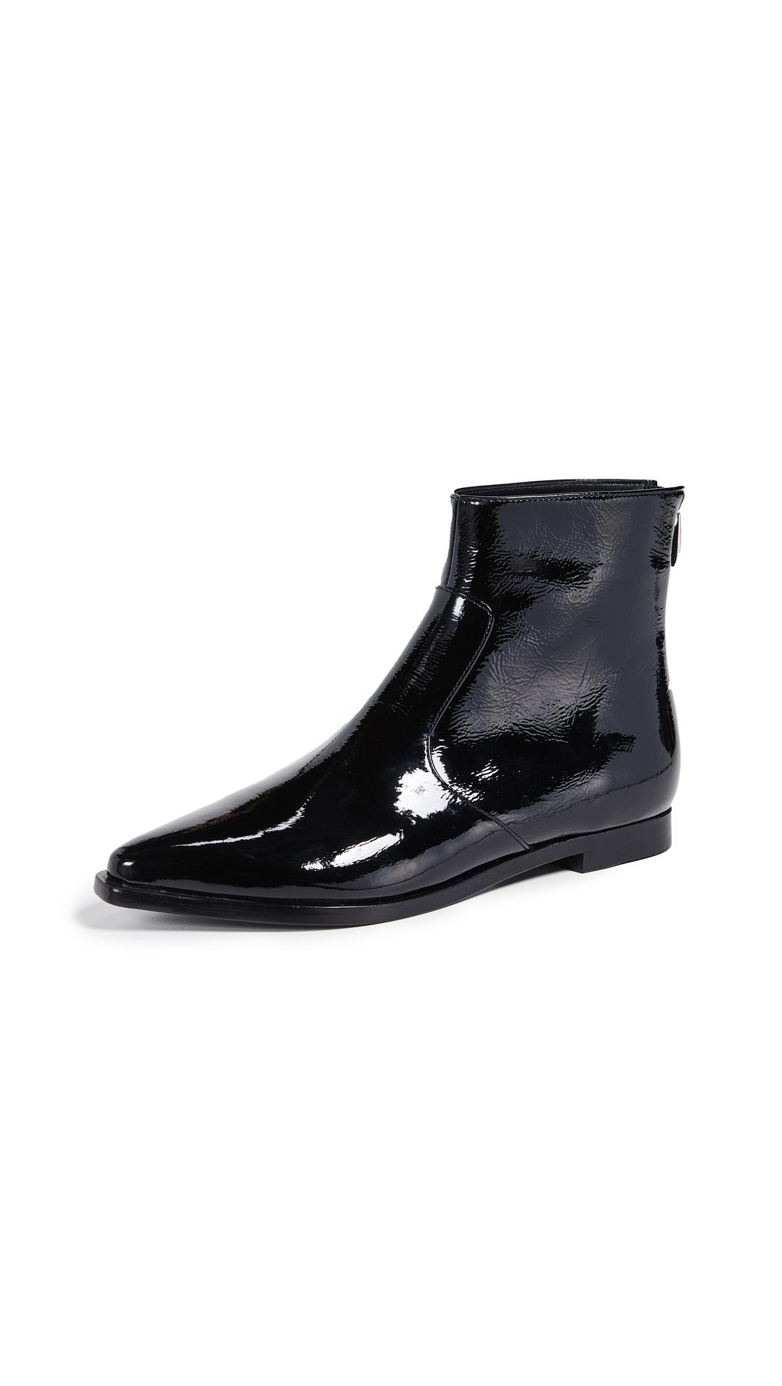 Sigerson Morrison Eranthe Point Toe Booties - Black