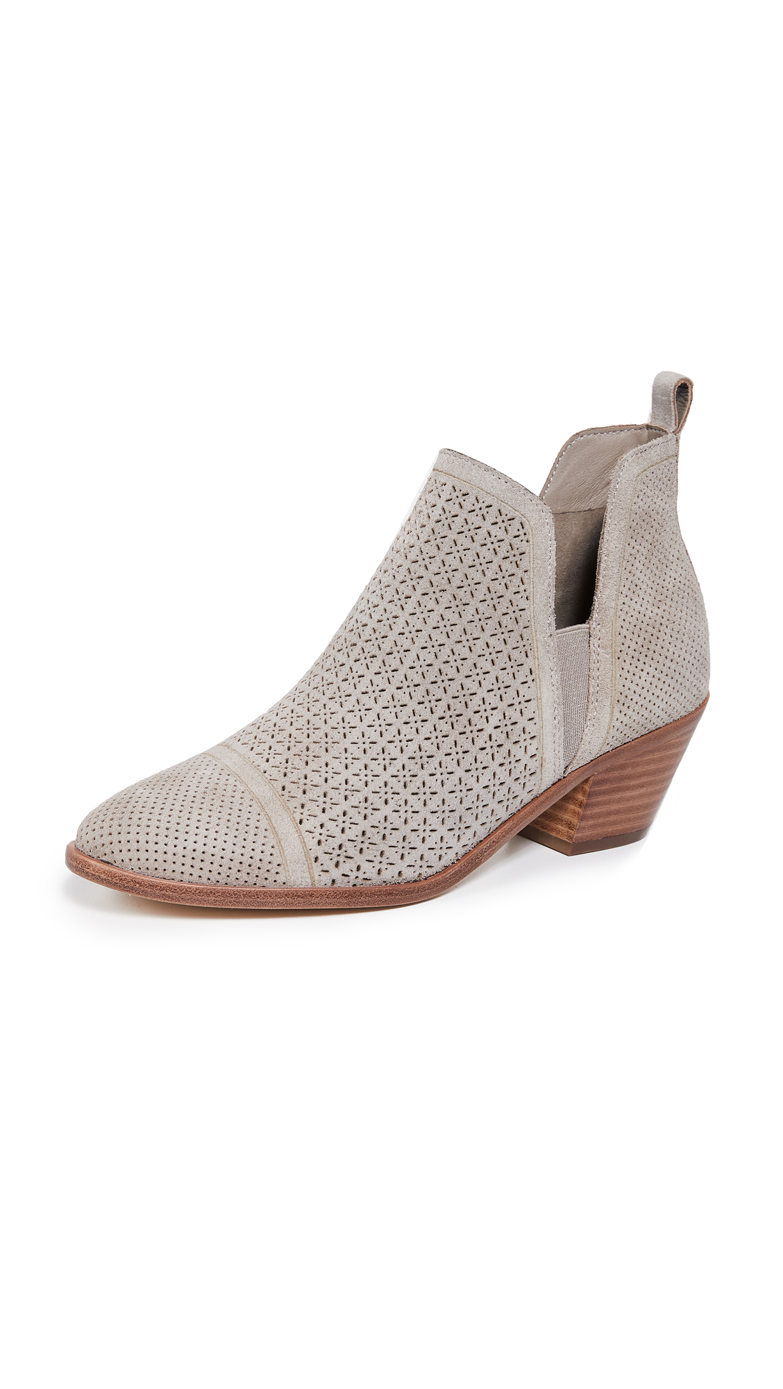 Sigerson Morrison Belle Suede Booties - Aredesia