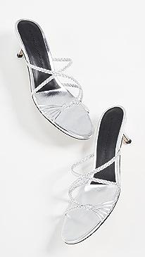 ccc967ac0cb Sigerson Morrison. Fyona Kitten Heel Slides