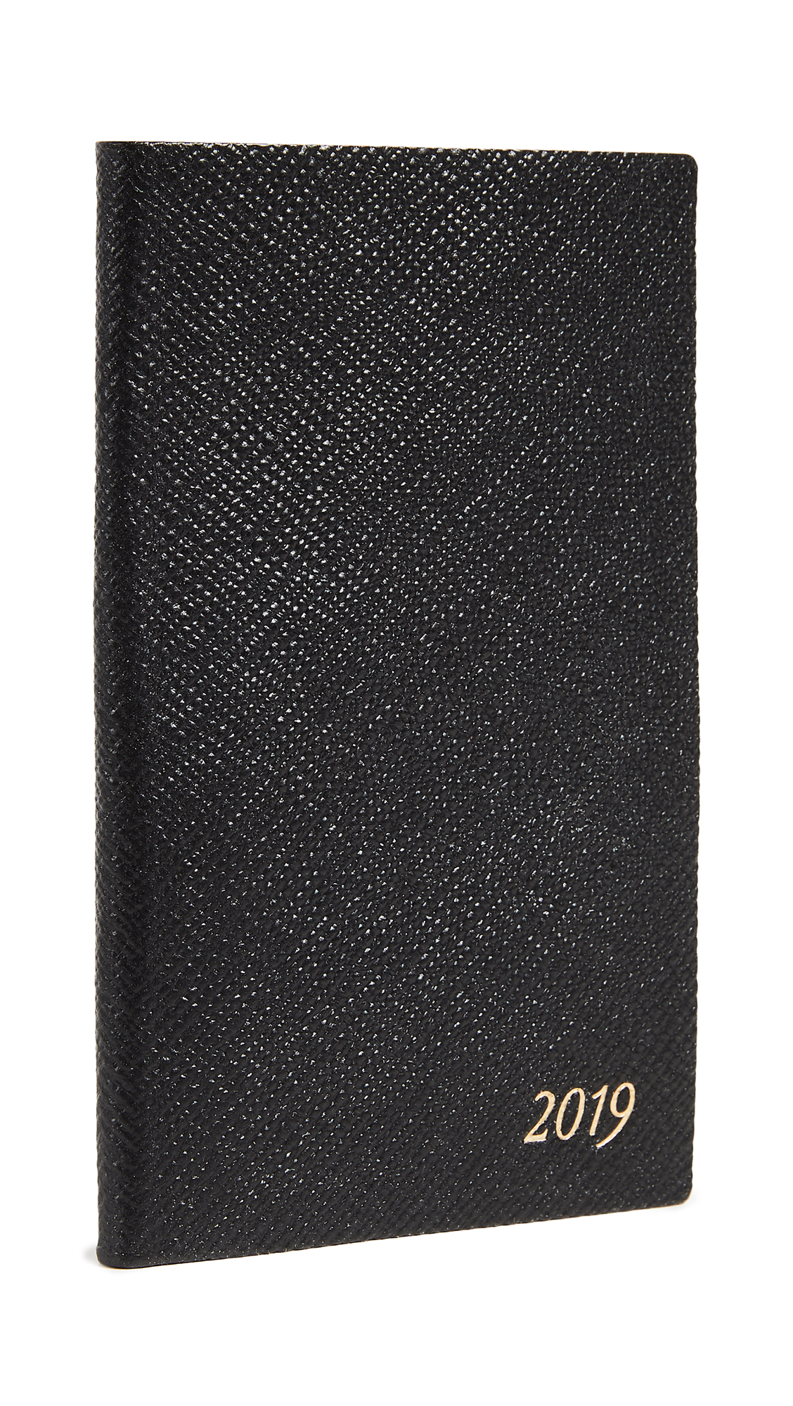 2019 Diary Panama Notebook in Black