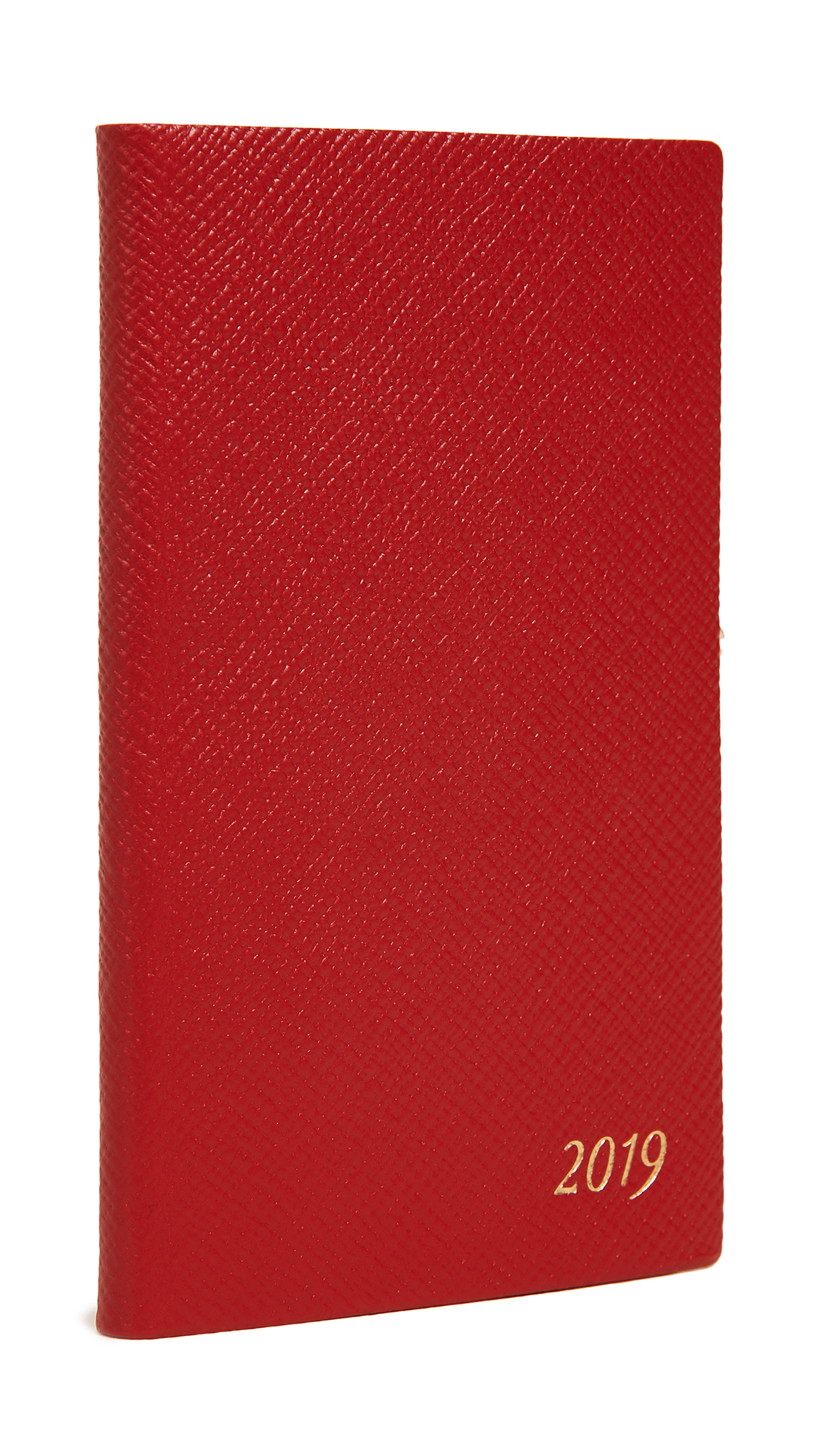 2019 Diary Panama Notebook in Red