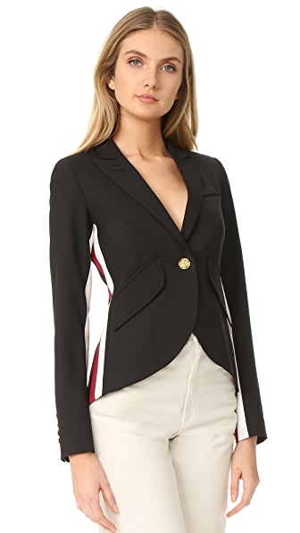 Smythe racing stripe blazer shopbop for Smythe designer