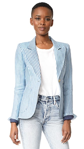 SMYTHE Patch Pocket Dutchess Blazer