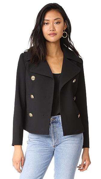 SMYTHE Pea Coat - Black