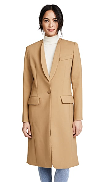 SMYTHE Skinny Lapel Coat at Shopbop