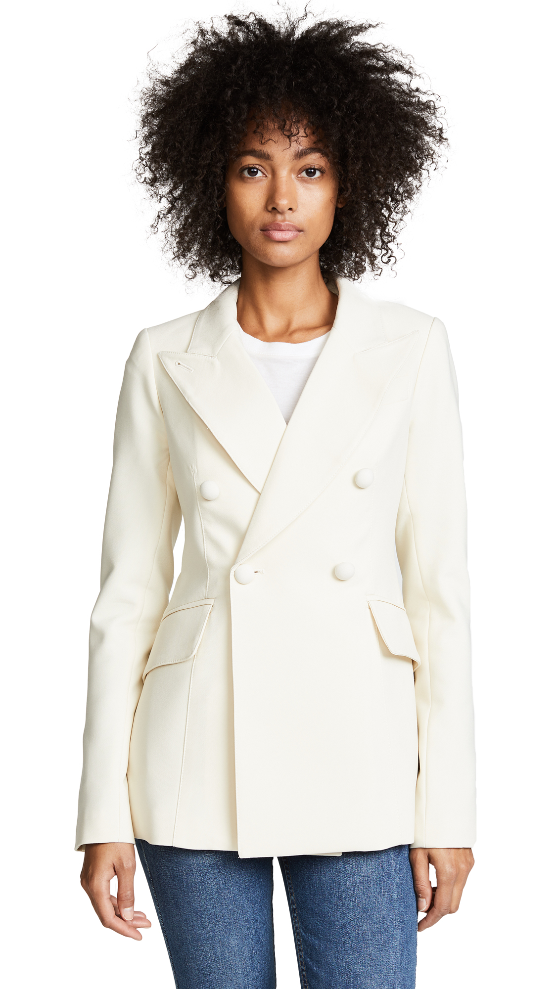 SMYTHE Wedding Blazer - Oyster