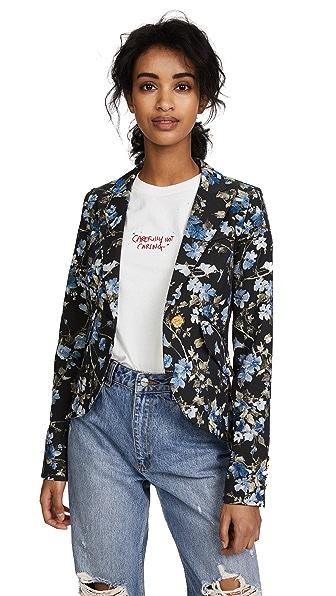 SMYTHE Tuxedo Stripe Blazer at Shopbop
