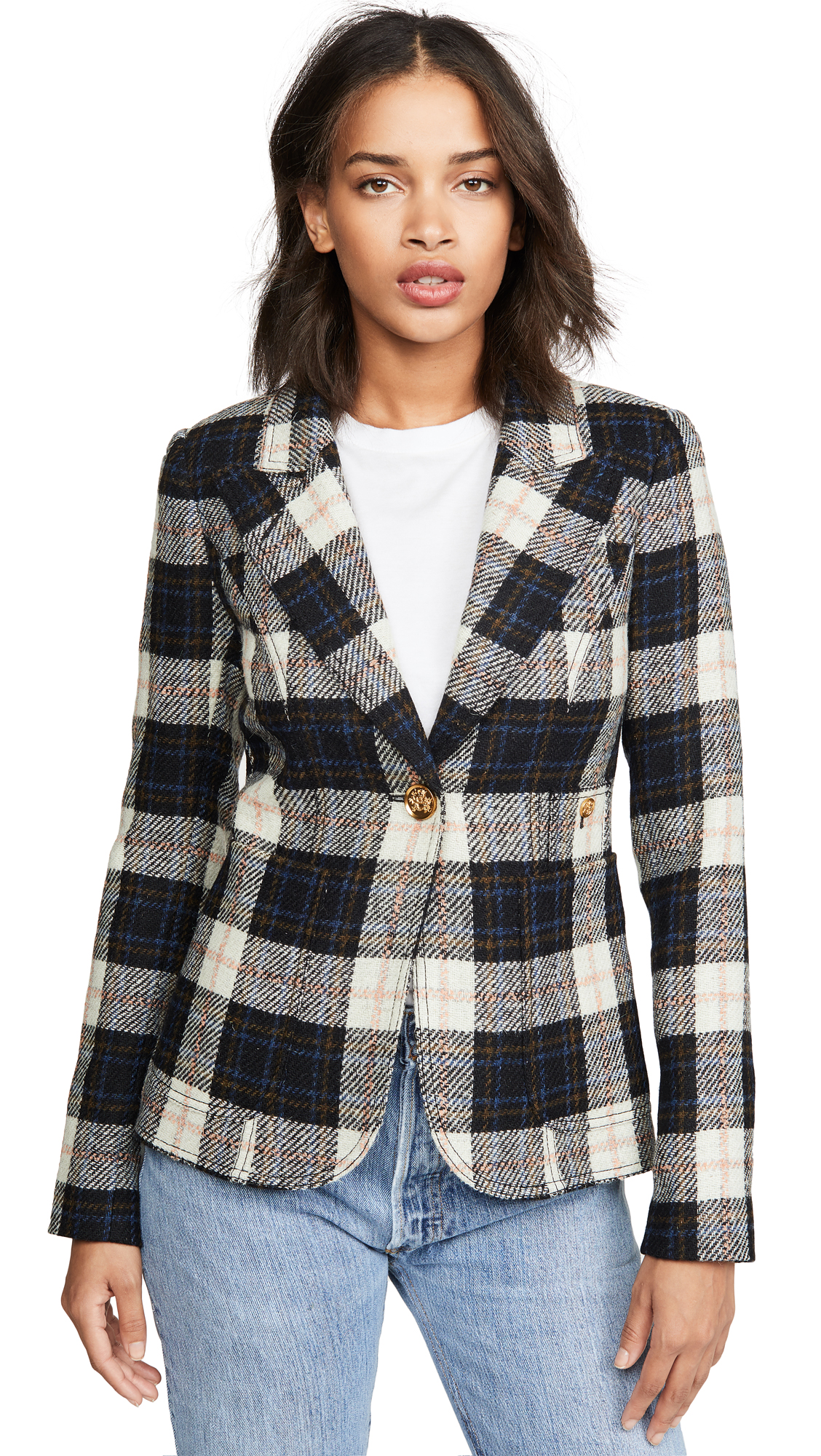 Buy SMYTHE online - photo of SMYTHE Patch Pocket Duchess Blazer