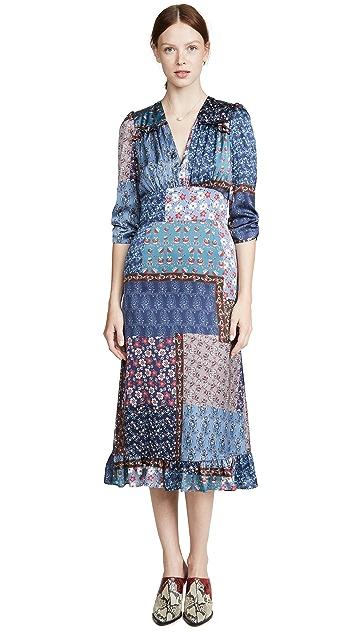 SMYTHE Midi Tea Dress