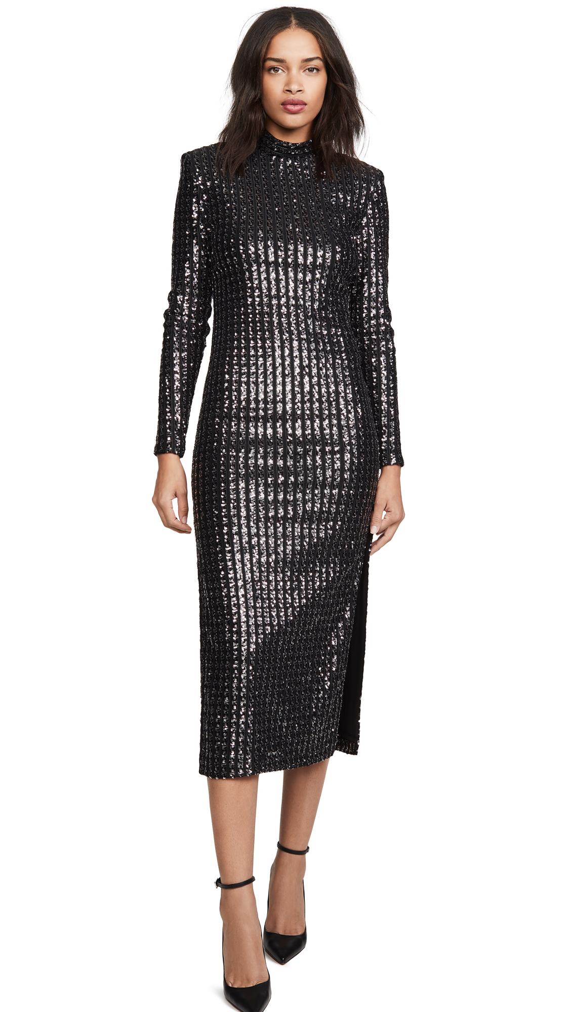 Buy SMYTHE online - photo of SMYTHE Sequin Side Slit Dress