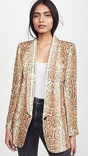 SMYTHE 围巾式领长外套