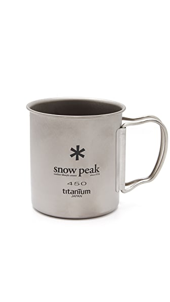 Snow Peak Titanium Single Wall 450 Mug