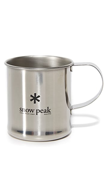 Snow Peak Stainless Steel Mug