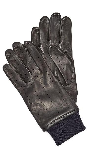 S.N.S. Herning Redundant Leather Driving Gloves