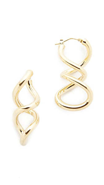 Soave Oro Twist Earrings - Gold