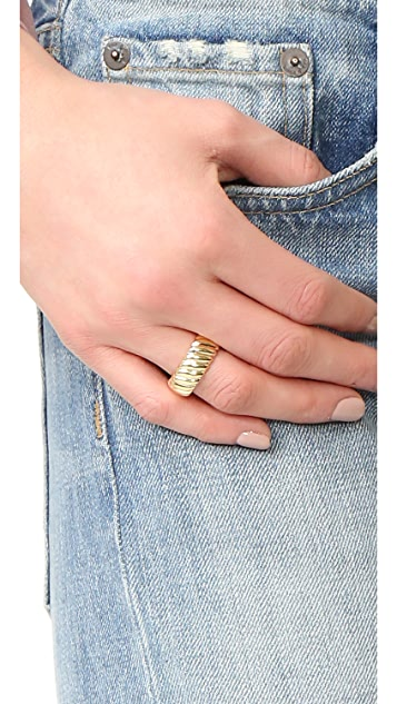 Soave Oro Twisted Ring