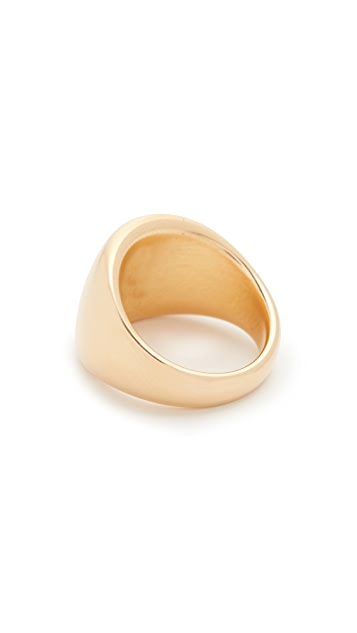 Soave Oro Polished Graduated Band Ring
