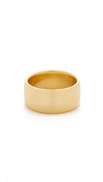 Soave Oro Polished Band Ring