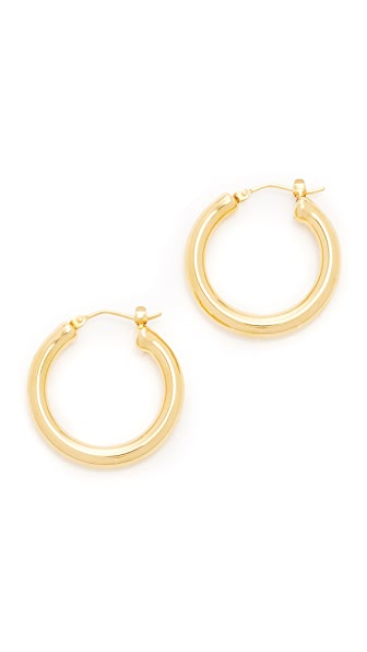 Soave Oro Alice Hoops