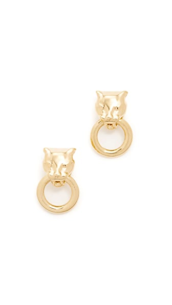 Soave Oro Angelina Earrings In Yellow Gold