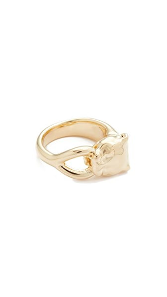 Soave Oro Angelina Ring - Yellow Gold