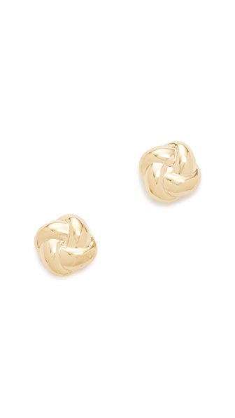 Soave Oro Celine Stud Earrings