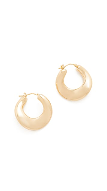 Soave Oro Colette Hoop Earrings