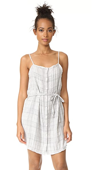 Soft Joie Yaretzi B Dress In Porcelain/Caviar