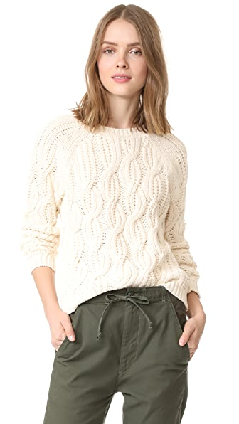 Soft Joie Candessa Sweater - Natural