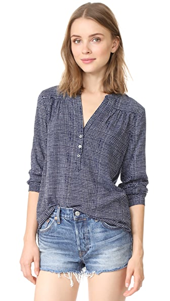 Soft Joie Rosalynn Blouse - Dark Navy