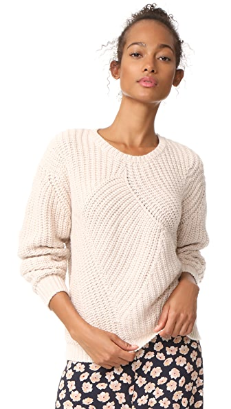 Soft Joie Balenne Sweater In Light Fawn