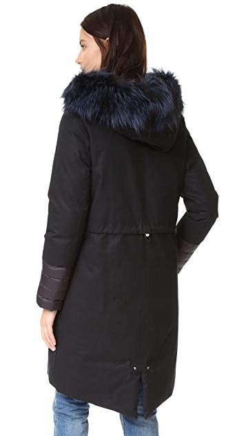 Soia & Kyo Carolann Parka with Fur