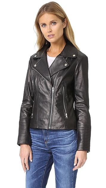 Soia & Kyo Maritza Leather Jacket