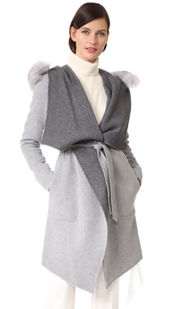 Soia & Kyo Samia Reversible Coat