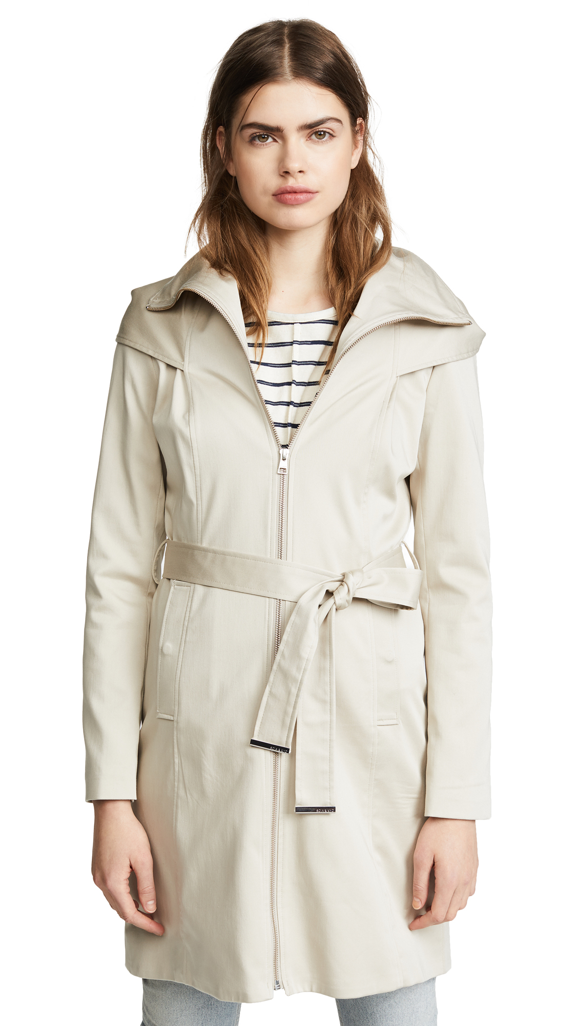 SOIA & KYO MAALI TRENCH COAT